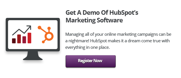 book your HubSpot demo click here button