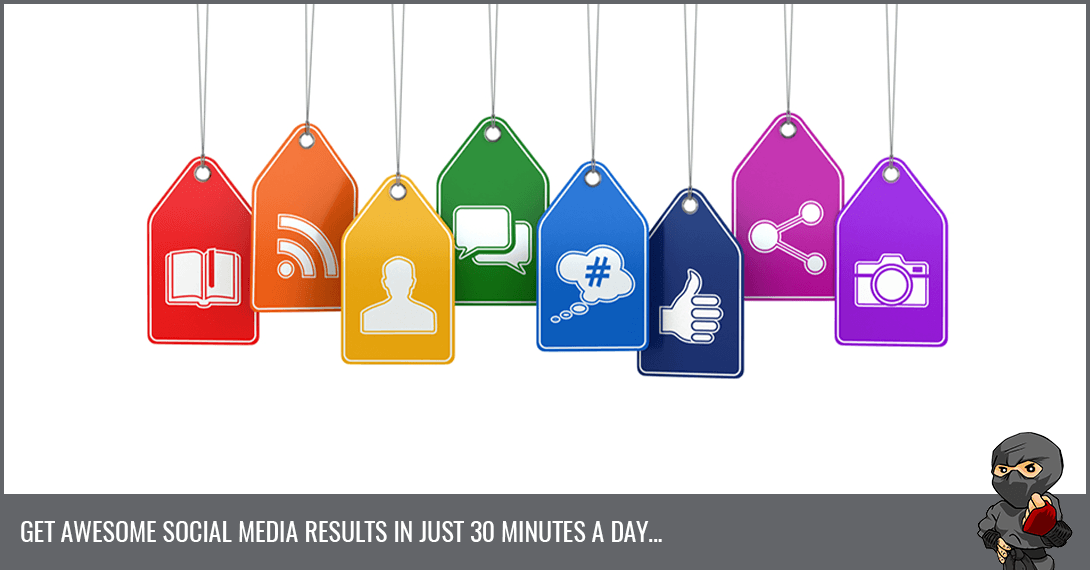Get Your Social Media Marketing Done In 30 Minutes [Infographic]