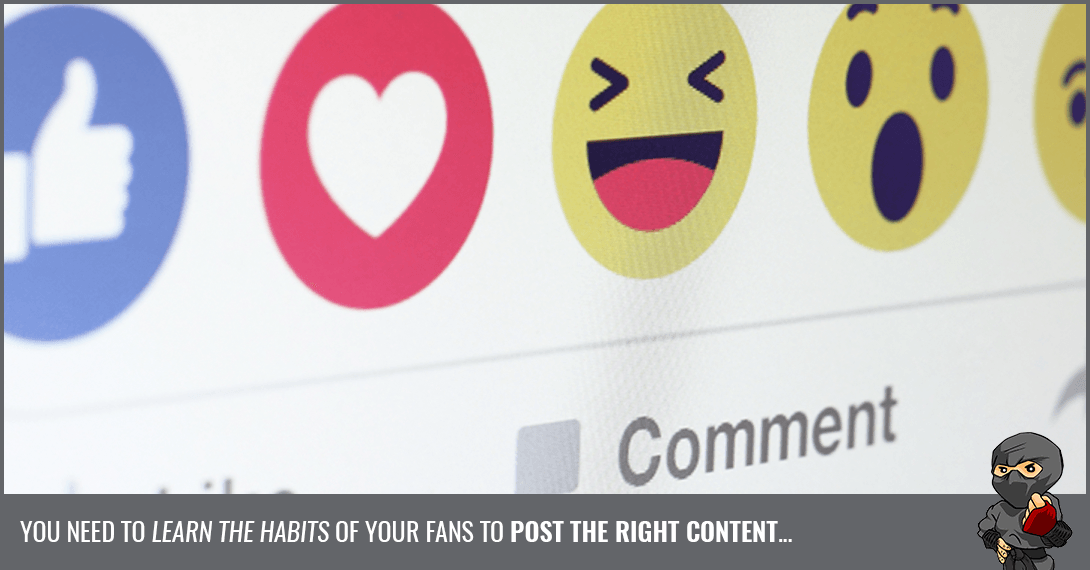 The Habits of Facebook Users: Why They Like, Comment and Share [Infographic]