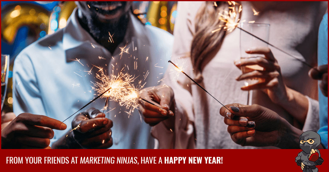 Happy New Year From Marketing Ninjas!