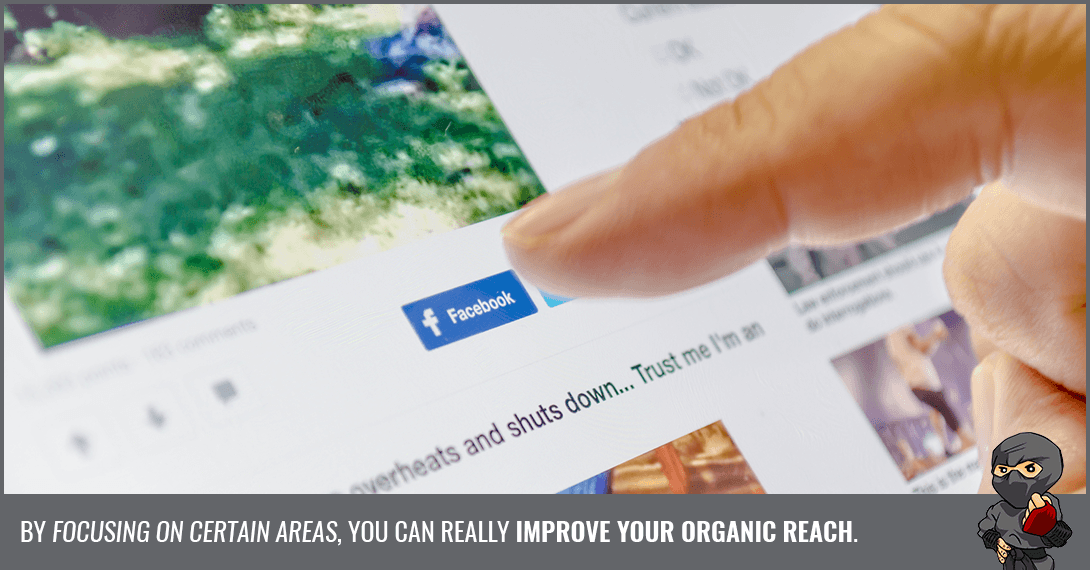 How to Improve Organic Reach on Facebook [Infographic]