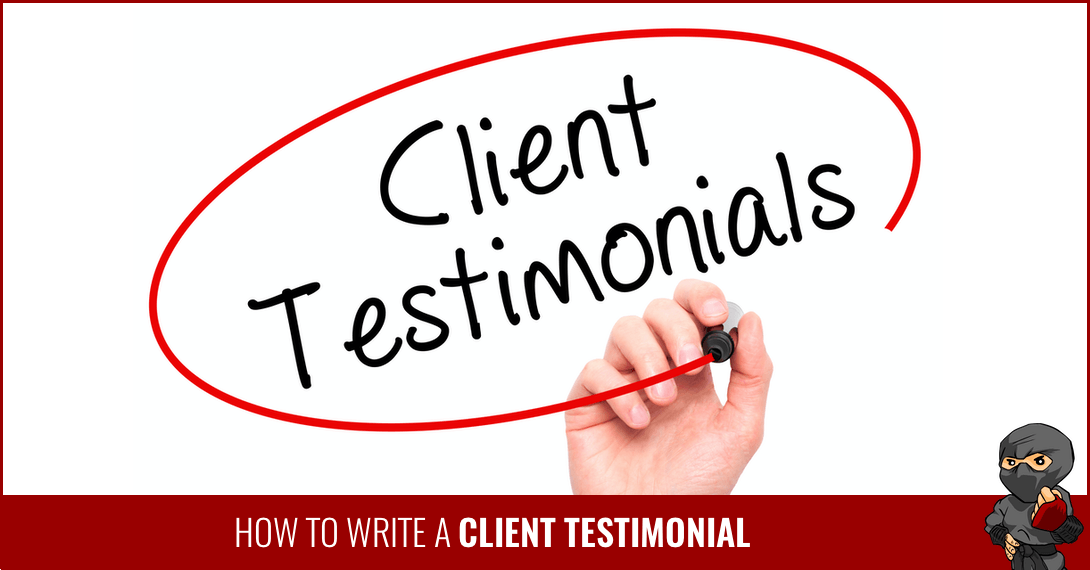 How to Write a Client Testimonial