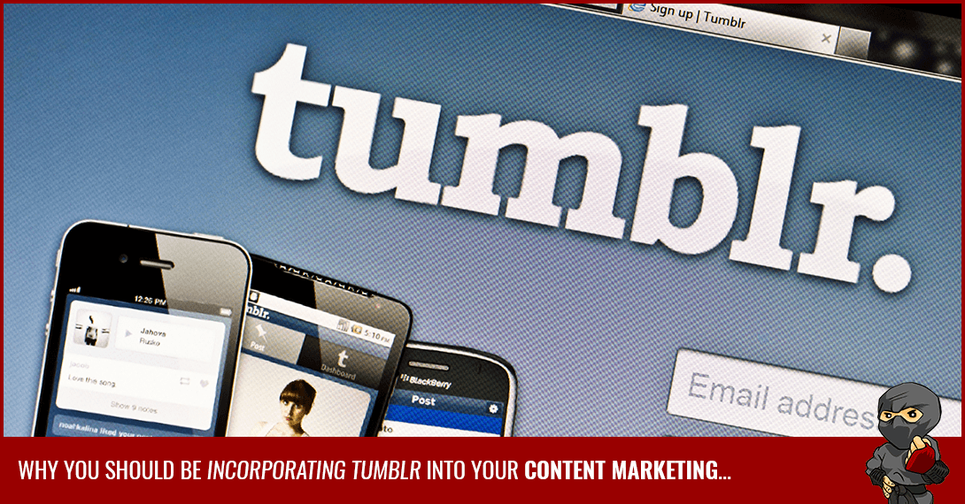 Tumblr is For Real: Stats from the Social Blogging Power [Infographic]